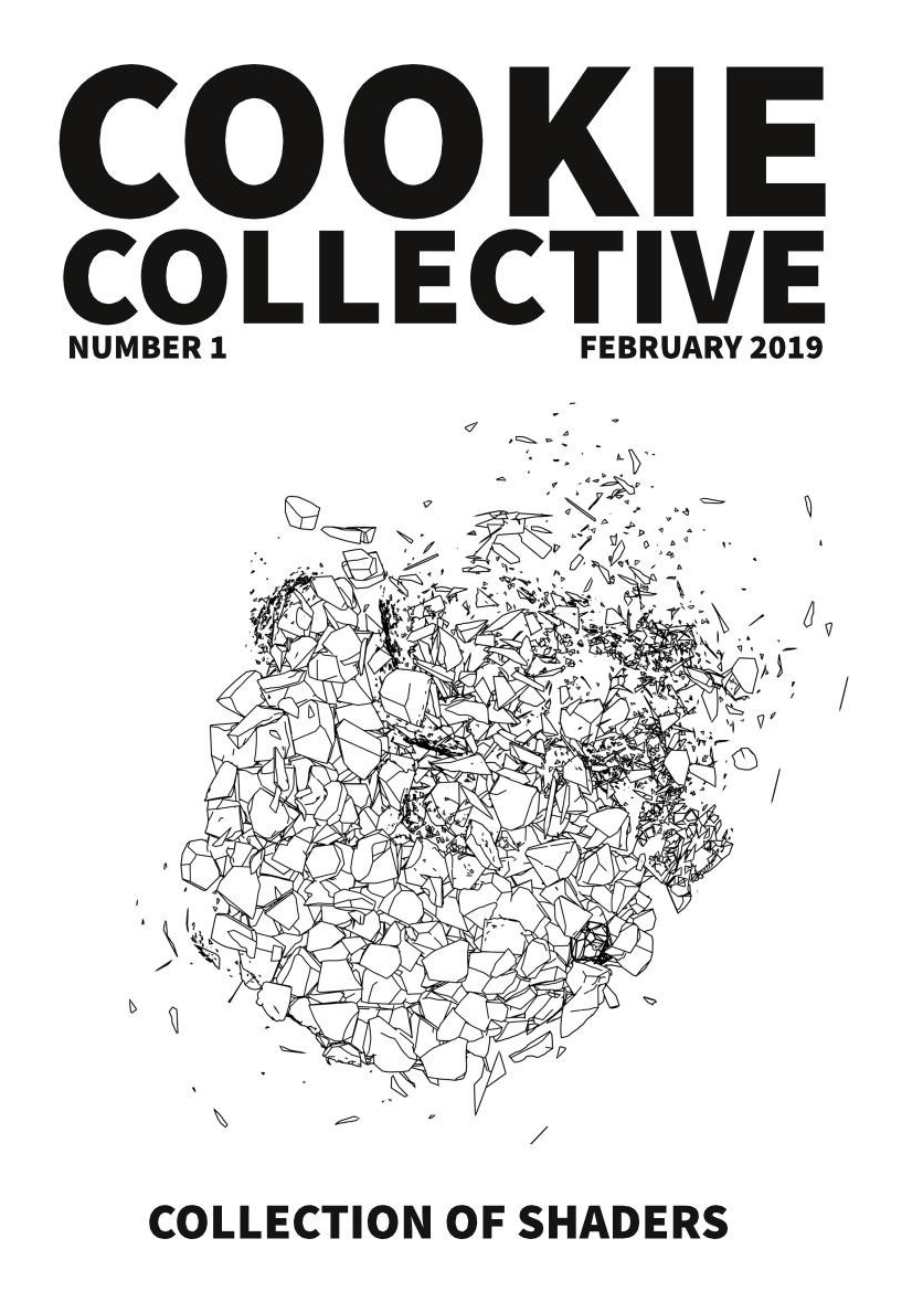 Cover of Cookie Collective fanzine #1